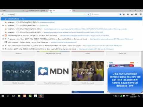 Menginstall Simple Machine Forum ( SMF ) menggunakan XAMPP