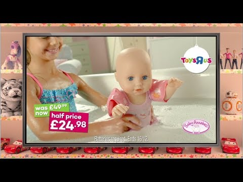 Baby Annabell Learns To Swim Doll Now HALF PRICE At Toys R Us!
