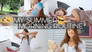 My Summer Morning Routine 2015! | Reese Regan