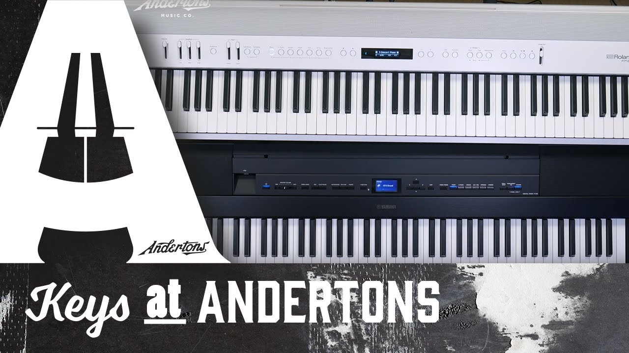 portable digital piano shootout roland fp60 vs yamaha p515 youtube. Black Bedroom Furniture Sets. Home Design Ideas