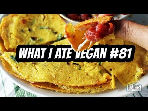 HEALTHY VEGAN RECIPES + VEGAN SNACKS TASTE TEST // WHAT I ATE IN A DAY #81 | Mary's Test Kitchen