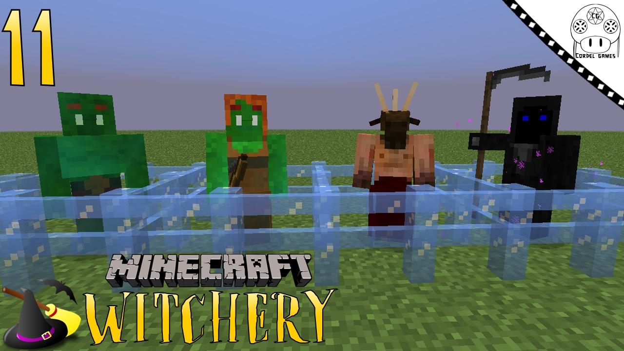 TUTORIAL WITCHERY - #11 CHEFÕES - BOSSES [MINECRAFT MOD WITCHERY]