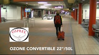 Gear Reporter Krista loves this piece of luggage. Featuring a remov...