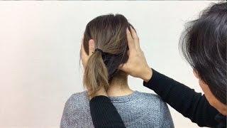 数秒の頭部調整で首の可動範囲を広げる技術 (字幕有り)/  整体 広島 眞田流 腰痛・ギックリ腰・ばね指が治る整体マッサージBMS・腱引き療法
