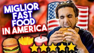 🍔🍟  MANGIO nel FAST FOOD MEGLIO VALUTATO d'AMERICA! *buonissimo*