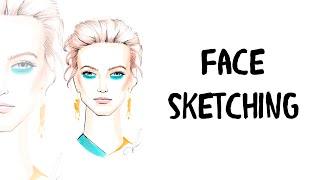 Face Sketching: Как рисовать волосы и макияж маркерами(Елена Астахова в видеоуроке Face Sketching: Как рисовать волосы и макияж маркерами демонстрирует и подробно расск..., 2016-06-27T12:54:56.000Z)