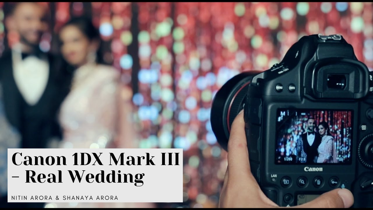 Canon 1 Dx Mark III Review | Behind the scenes of an Indian Wedding