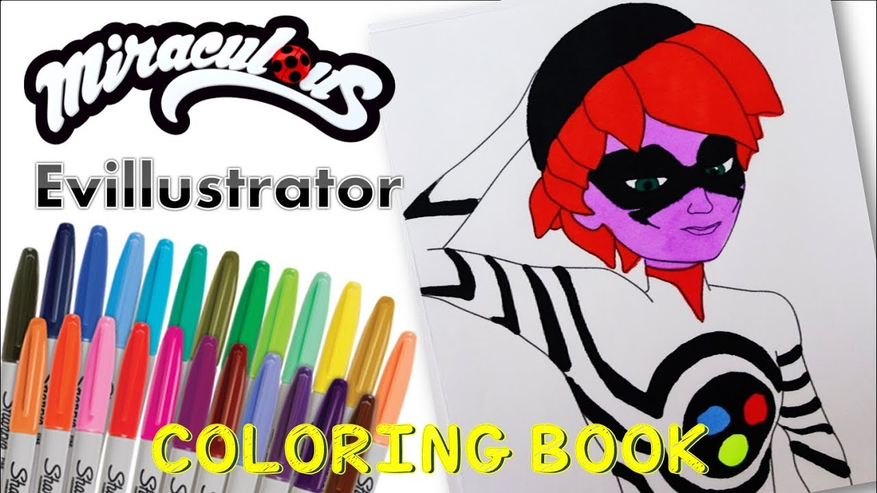 Miraculous Coloring Page