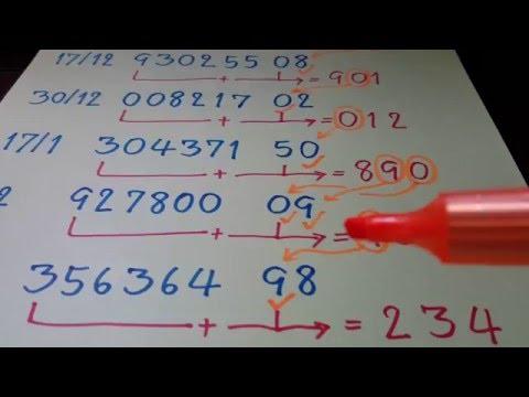 เลขเสียงกุมาร งวด 1 มิถุนายน 2560 เน้น 9 - 0