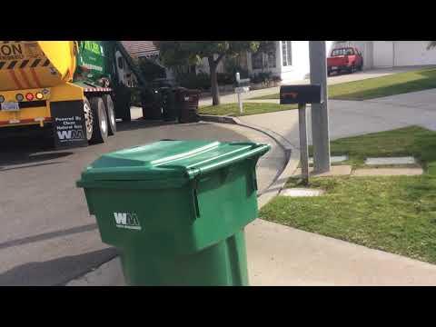 Waste Management Garbage Trucks - Trash Pickup