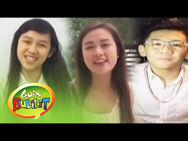 Goin' Bulilit: First batch of 'Goin' Bulilit' celebrates 12th Anniversary of the show