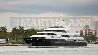 MARTHA ANN Yacht | $80,000,000 floating out to sea...