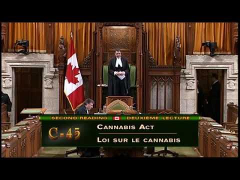 Canadian House of Commons debates Bill C45 - June 2rnd, 2017 - Sitting 186
