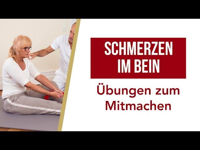 Beinschmerzen | Effektive Übungen zum Mitmachen | Liebscher & Bracht