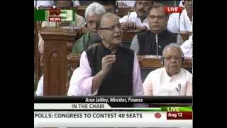 Arun Jaitley speaks over Lalit Modi issue in Lok Sabha