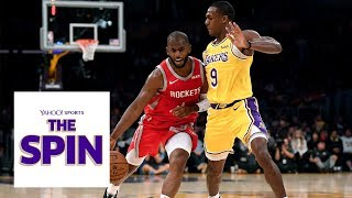 Why NBA players view Chris Paul and Rajon Rondo differently | The Spin NBA