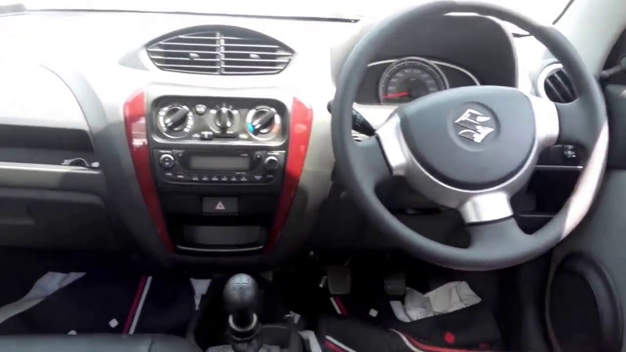 All new maruti suzuki alto800 2016 facelift interior for Interior decoration of maruti 800