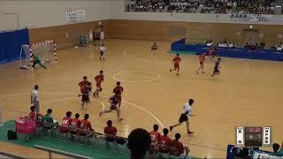 20180729 男子ハンドボール 3回戦 群馬富岡群馬県対 神戸国際大学附兵庫県