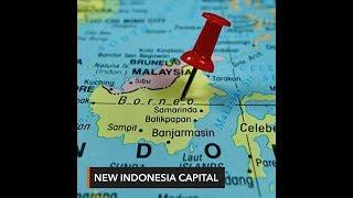 Indonesia picks Borneo island for new capital