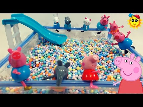 Mlg peppa pig en la piscina doovi for Peppa pig en piscina