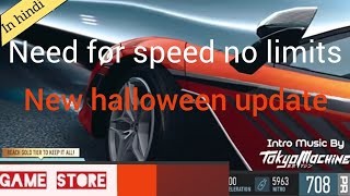 Need for speed no limits halloween update