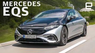 Mercedes EQS First Drive: S-Class luxury in a EV
