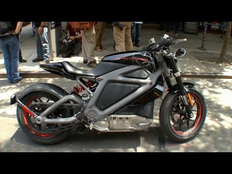 Harley Davidson Unveils Electric Motorcycle Youtube