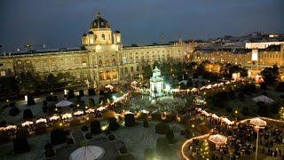 Австрия #109: Рождественский базарчик на Maria-Theresien-Platz (Christmas Market)