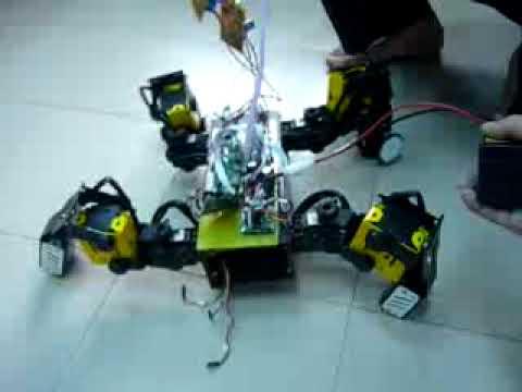 Bkit4u-SpiderRobot-Ver1