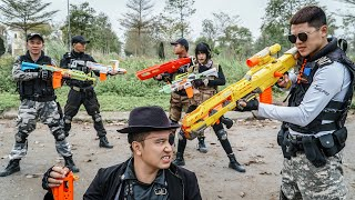 LTT Nerf War : Special Police SEAL X Warriors Nerf Guns Fight Dr.Lee Crazy Avenger