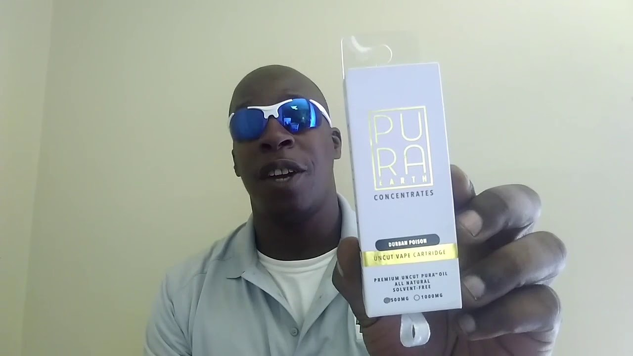 Vape Review: Pura Earth Durban Poison cartridge