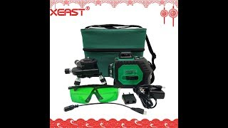 Green beam 3D 360 degree Rotary Wall Multi cross Line Auto Self Leveling Laser Level