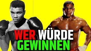 Ali gegen Mike Tyson   Wer würde gewinnen?