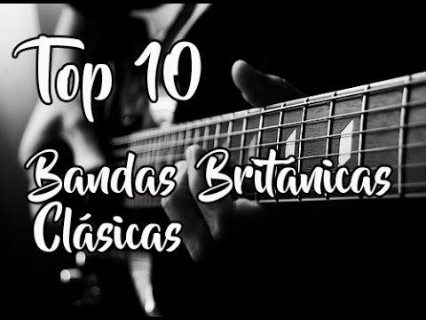 Top 10: Bandas Británicas de Rock Clásico - YouTube  Bandas