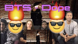 MV BTS방탄소년단   DOPE쩔어 (VIEWS FROM THE COUCH) REACTION !!!!!