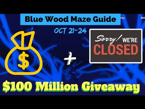 Blue Wood Maze Guide Oct 21-24 (Lumber Tycoon 2) Roblox