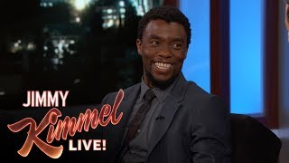 Chadwick Boseman on Black Panther Trailer