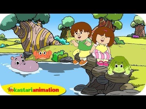 Kutahu Dunia Air (kepiting, kura kura, kuda nil) - Kastari Animation Official
