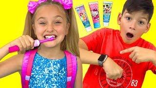 Download Canciones de higiene. La rutina matutina de Sasha. Canciones Infantiles Mp3 and Videos
