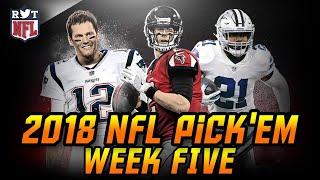 2018 Week 5 NFL Predictions | NFLRT Pick'em Challenge