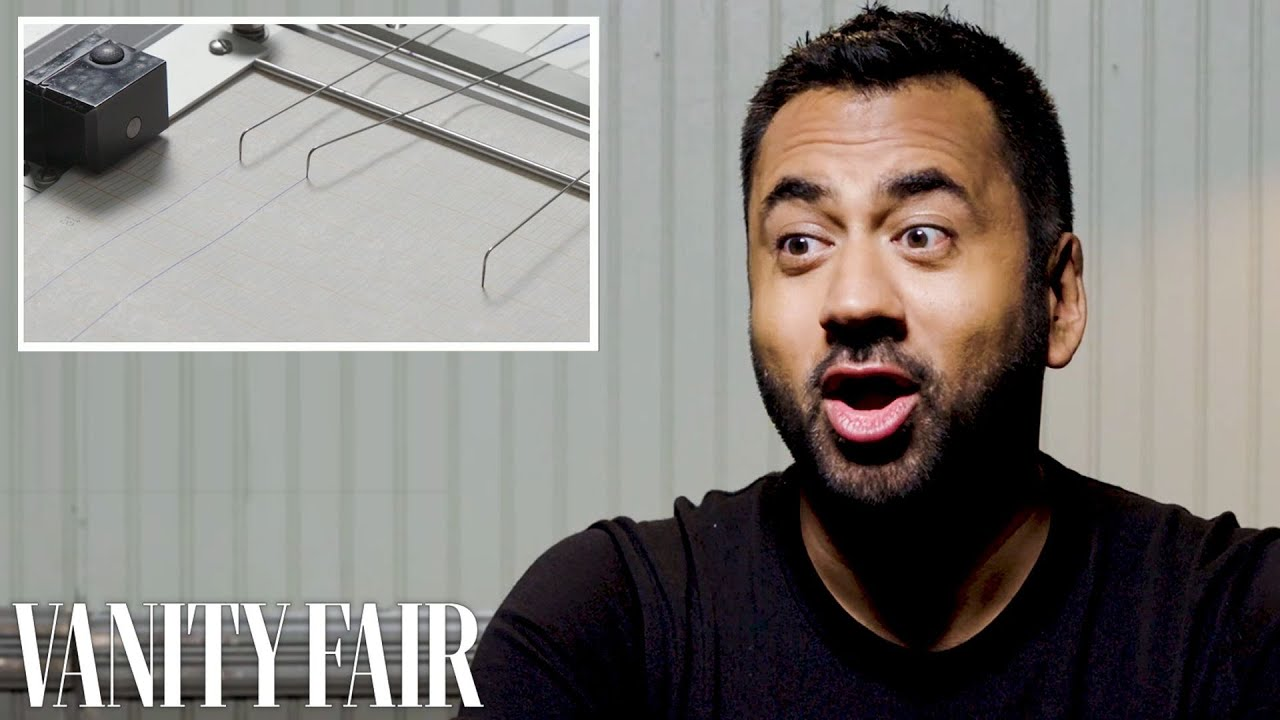 Kal Penn Takes a Lie Detector Test
