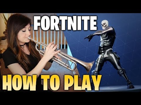 Play FORTNITE Music On TRUMPET