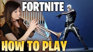 How to Play Fortnite Music on Trumpet | AbbiStar thumbnail