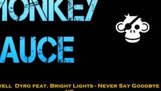 Hardwell Dyro ft. Bright Lights - Never Say Goodbye vs W&W - Thunder ( Monkey Sauce Mashup)