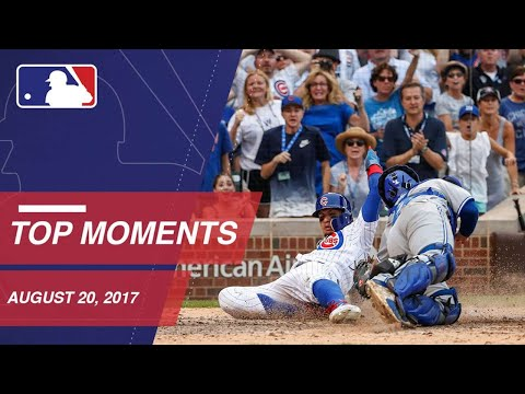 Stanton reaches 45 HRs, nine moments around the Majors: 8/20/17