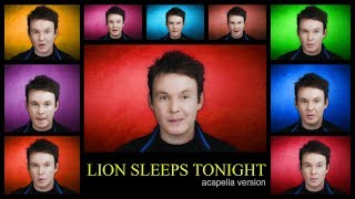 Lion Sleeps Tonight - Acapella (inspired by Jimmy Fallon & Billy Joel)