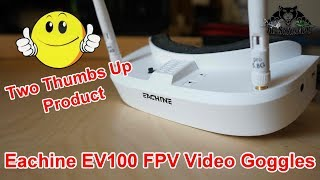 Perfect Beginners Goggles Eachine EV100 FPV Video Goggles
