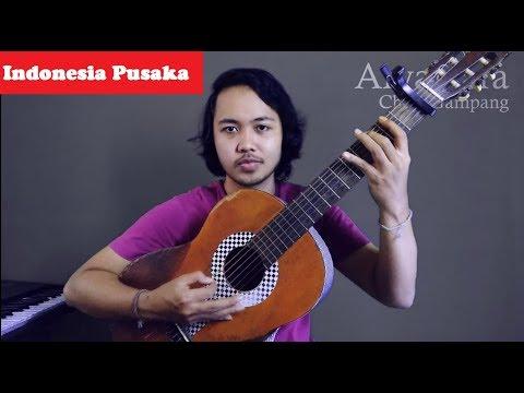 Chord Gampang (INDONESIA PUSAKA) by Arya Nara (Tutorial)
