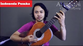 Chord Gampang (INDONESIA PUSAKA) by Arya Nara (Tutorial)