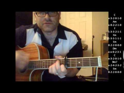 How to play Let's Stay Together by Al Green on acoustic guitar (made easy)